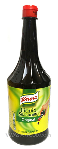 Knorr Liquid Seasoning Original Soy Sauce, 33.5 oz (6-Count)