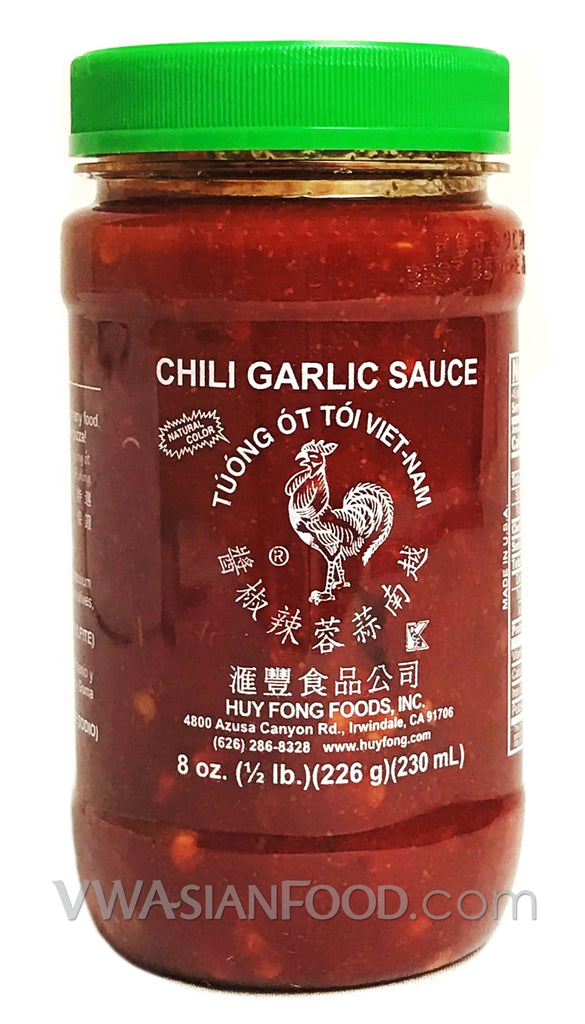Huy Fong Chili Garlic Sauce, 8 oz (24-Count)