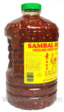 Huy Fong Sambal Oelek Ground Fresh Chili Paste, 136 oz (8.5 LB) 3-Count