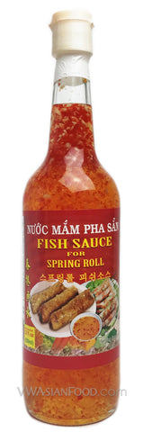 Vietnamese Lady Fish Dipping Sauce (Pha Sẵn), 22 oz Bottle (12-Count)