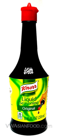 Knorr Liquid Seasoning Original Soy Sauce, 8.45 oz (24-Count)