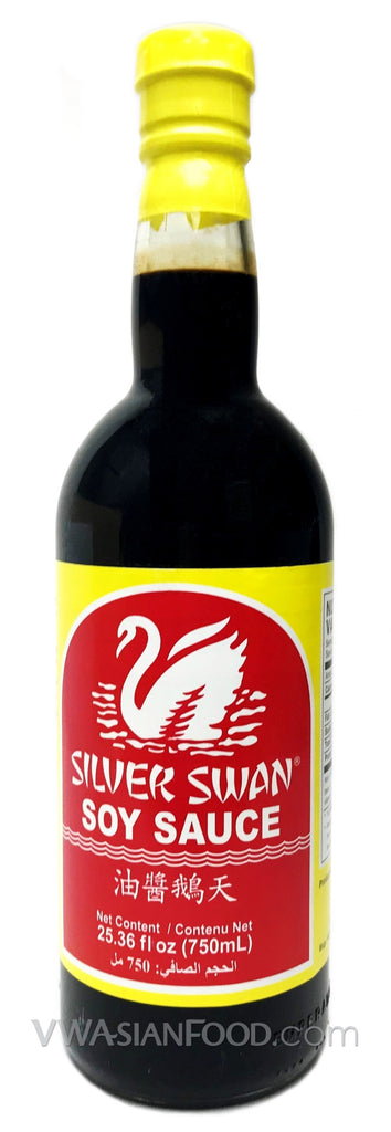 Silver Swan Special Soy Sauce, 21 oz (12-Count)