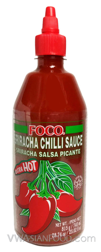 Foco Sriracha Chili sauce, 28.74 oz (12-Count)