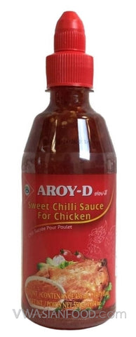 Aroy-D Sweet Chili Sauce for Chicken, 14.7 oz Bottle (12-Count)