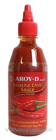 Aroy-D Sriracha Chili Sauce, 14.5 oz Bottle (12-Count)