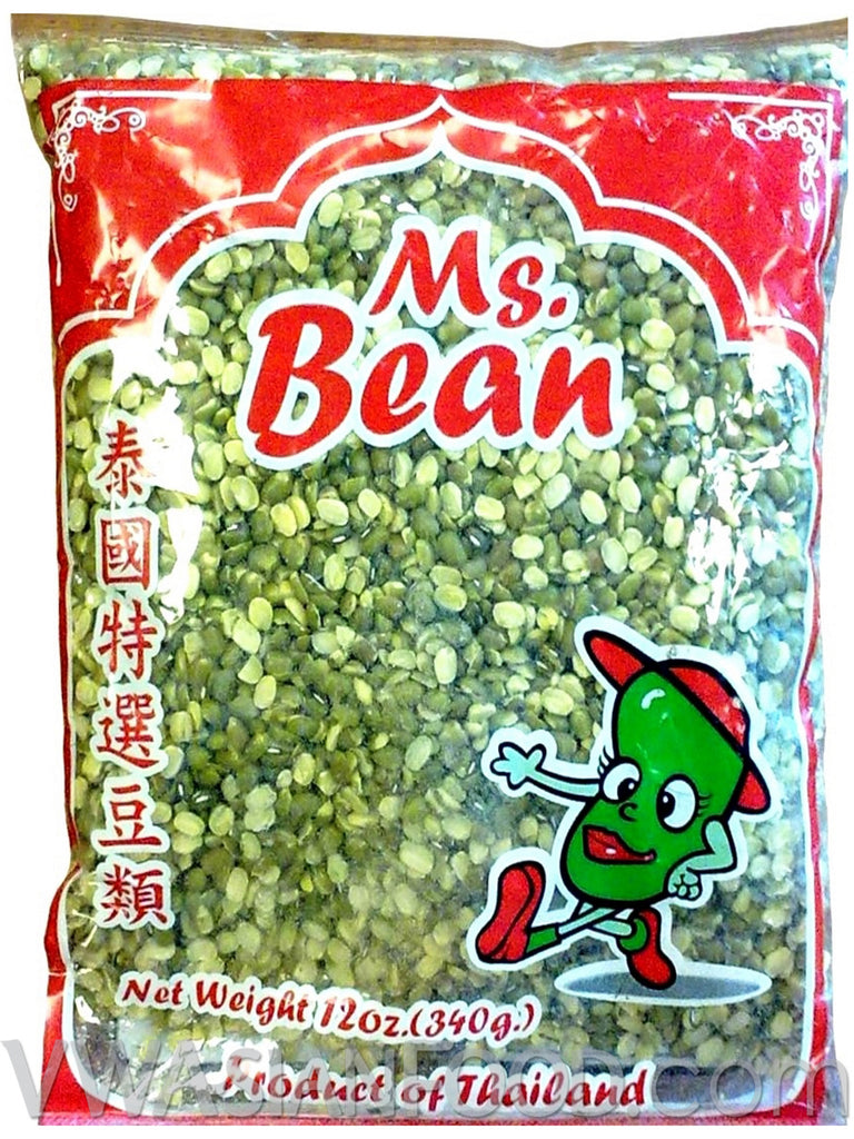 ms bean mung bean peeled 12 oz 50 count vw asian food co