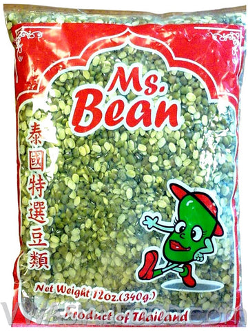 Ms. Bean Mung Bean Peeled, 12 oz (50-Count)