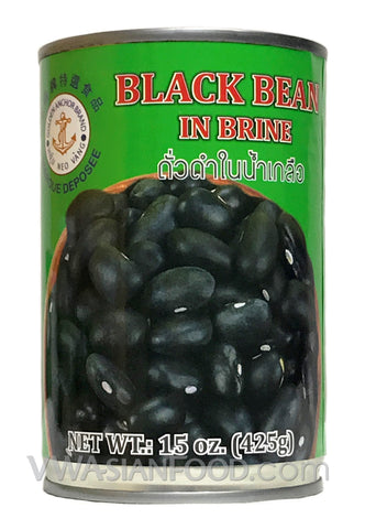 Golden Anchor Black Bean in Brine, 15 oz (24-Count)