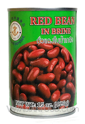 Golden Anchor Red Bean in Brine, 15 oz (24-Count)