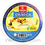Vifon Fish Instant Rice Porridge (Chao Ca) 4.2 oz, 6-Bowls (6-Packs)