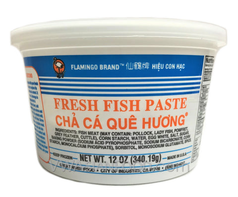 Flamingo Fresh Fish Paste, 12 oz (18-Count)
