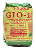 Vi Huong Pork Meat Loaf with Skin (Giò Bì), 14 oz (20-Count)