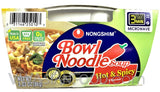 Nong Shim Bowl Noodle Soup (Hot & Spicy Picante), 3 oz (12-Count)