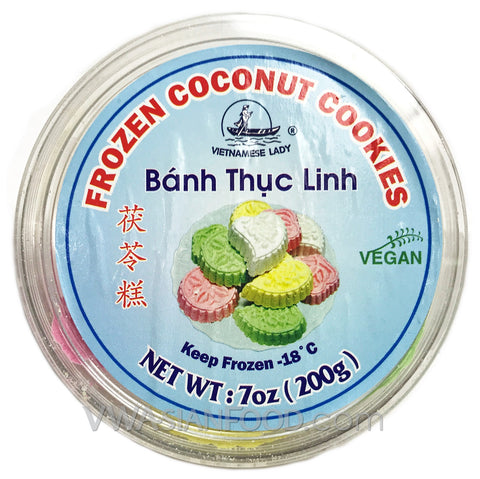 Vietnamese Lady Cocunut Cookies (Bánh Thục Linh) 7 oz, (36-Count)