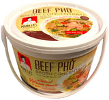 Mama La Pho Beef Broth Concentrate (Nước Phở Bò) 2.65 LB (12-Count)