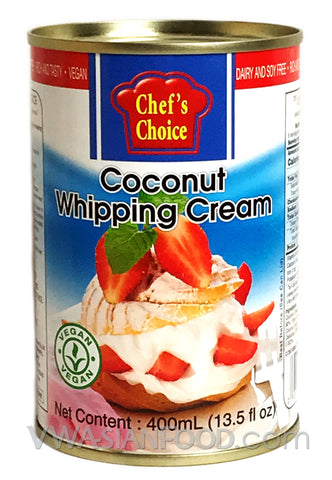 Chef's Choice Coconut Whipping Cream, 13.5 oz (24-Count)