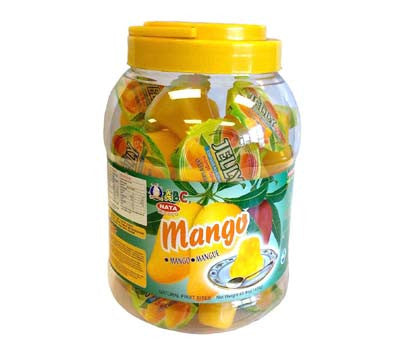 ABC Mango Jelly Filled Container, 3-Pound (6-Count)