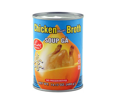 Lee Chicken Broth (Soup Ga), 14.5 oz (24-Count)