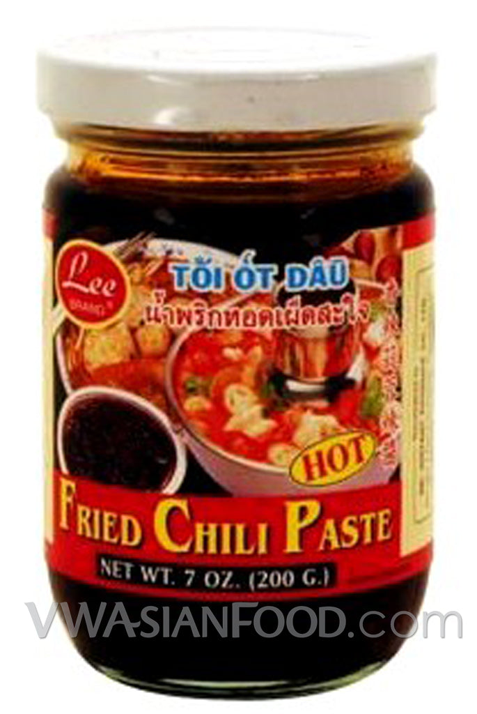 Lee Fried Chili Paste, 7 oz (24-Count)