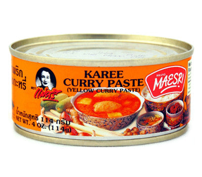 Maesri Karee Curry Paste, 4 oz (48-Count)