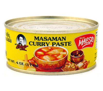 Maesri Masaman Curry Paste, 4 oz (48-Count)