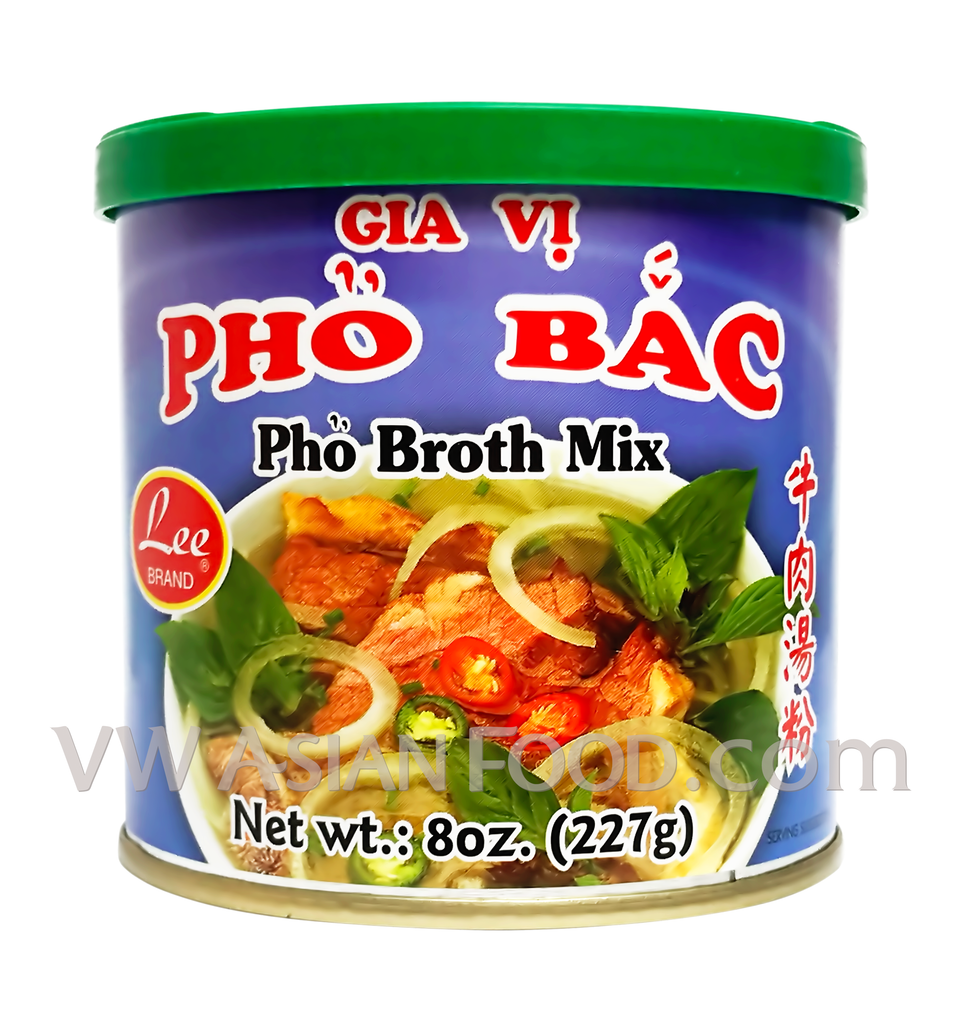 Lee Pho Broth Mix (Pho Bac), 8 oz (24-Count)