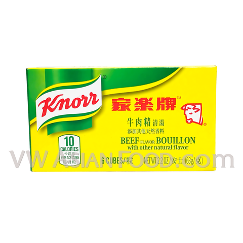 Knorr Beef Bouillon Cubes 2.2 oz, 24-Boxes (6-Packs)