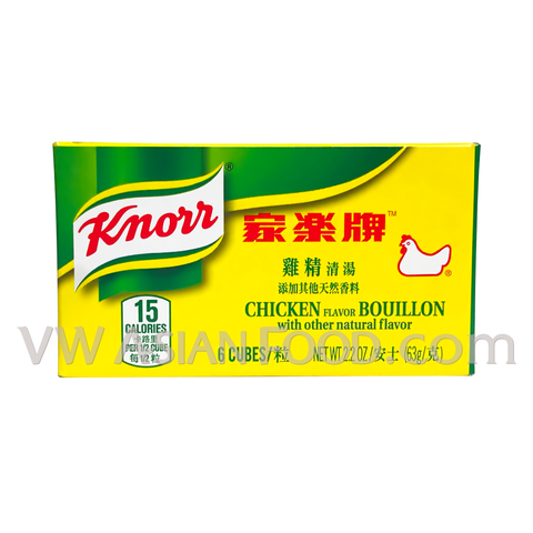 Knorr Chicken Bouillon Cubes 2.2 oz, 24-Cubes (6-Packs)