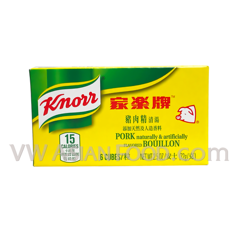 Knorr Pork Bouillon Cubes 2.5 oz, 24-Cubes (6-Packs)