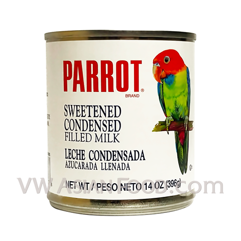 Parrot Sweetened Condensed Milk, 14 oz (24-Count)