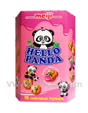 Hello Panda Strawberry Cream Filled Biscuits (Large Box) 9.1 oz, (8-Packs)