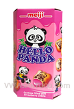 Hello Panda Strawberry Cream Filled Biscuits 2 oz, 10-Boxes (8-Packs)