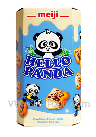 Hello Panda Cream Filled Biscuits (Large Box) 9.1 oz, (8-Packs)