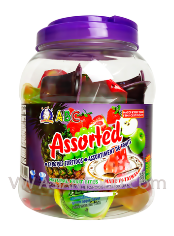 ABC Assorted Jelly Filled Container, 3-Pound (6-Count)