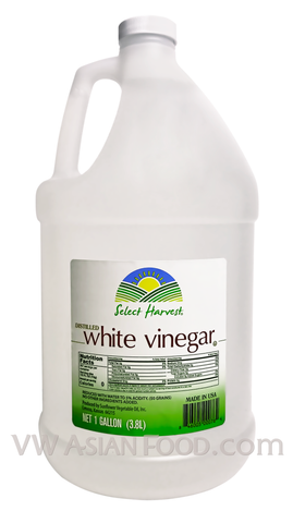 Select Harvest Distilled White Vinegar, 1 Gallon (6-Count)