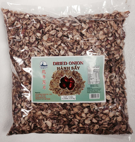 Vietnamese Lady Dried Onion, 3 LB (10-Count)