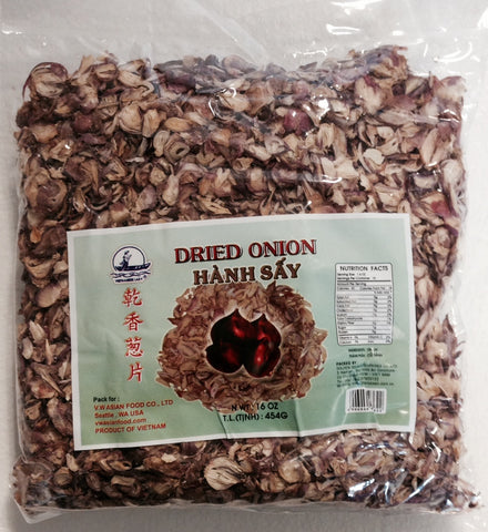 Vietnamese Lady Dried Onion, 16 oz (24-Count)