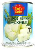 Chef's Choice Young Green Jackfruit, 20 oz (24-Count)