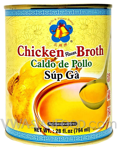 Lee Chicken Broth (Soup Ga), 28 oz (24-Count)