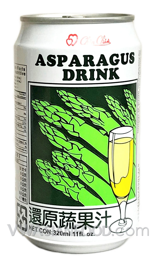 Chin Chin Asparagus Drink, 11.2 oz (24-Count)