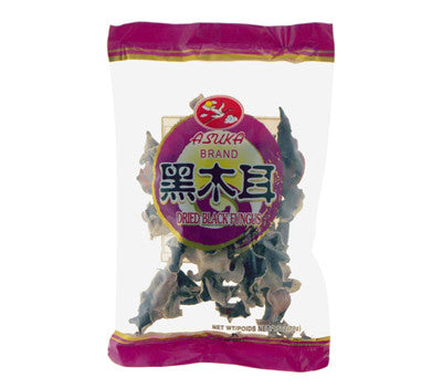 Asuka Dried Black Fungus (Whole), 2.5 oz (100-Count)