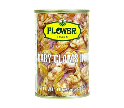 Flower Baby Clams, 10 oz (24-Count)