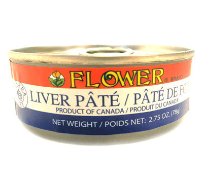 Flower Liver Pate, 2.75 oz (24-Count)