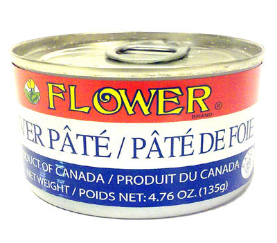 Flower Liver Pate, 4.75 oz (24-Count)