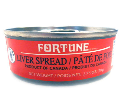 Fortune Liver Pate, 2.75 oz (24-Count)