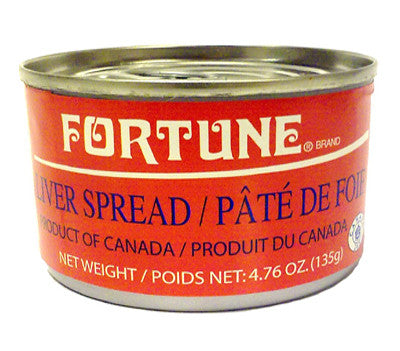 Fortune Liver Pate, 4.76 oz (24-Count)
