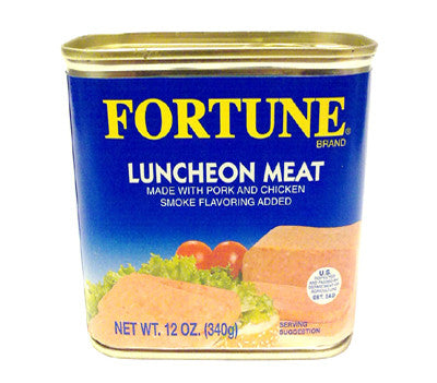 Fortune Smoked Flavor Luncheon Meat, 12 oz (12-Count)