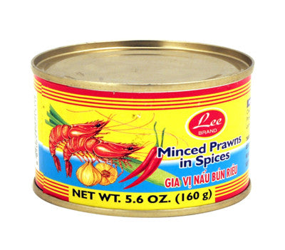 Lee Minced Prawns in Spices, 5.6 oz (48-Count)