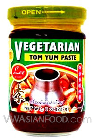 Lee Vegetarian Tom Yum Paste, 8 oz (24-Count)