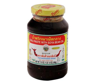 Pantai Chili Paste with Soya Bean Oil, 17.6 oz (24-Count)